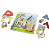 Bear House Wooden Puzzle