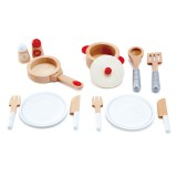 Cook and Serve Set - Red & White