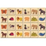 Animal Memory Tiles